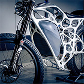 APWorks created 3D printed electric motorbike Light Rider