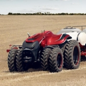 Autonomous farming is coming, Case IH's concept tractor