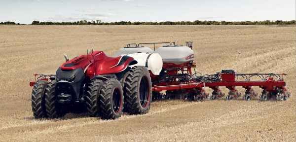 Case IH concept tractor