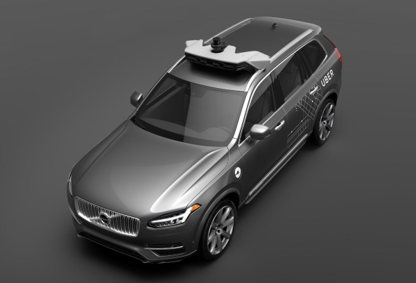 Volvo XC90 developed with Uber