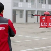 Chinese retailer tests delivery drones in countryside