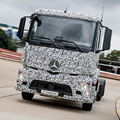 Daimler released electric Mercedes-Benz Urban eTruck