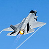 F-35A Lightning II fighter jet is ready for combat