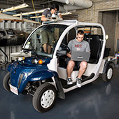 Ford and MIT test autonomous shuttles in MIT's campus
