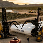Hyperloop One prototype hit 400 MPH in a desert test