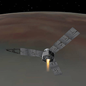 NASA Juno spacecraft reached the Jupiter's orbit