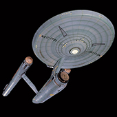 Original Star Trek Enterprise model brought back to life