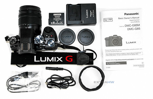 Panasonic Lumix G80 G85 inside the box