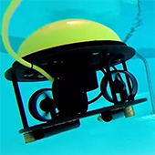 SeaDrone underwater robot not only for fishermen